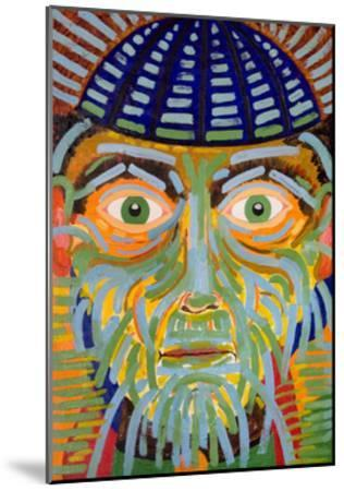 The Gaze of the Magus, 2005-Jan Groneberg-Mounted Giclee Print