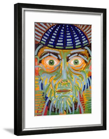 The Gaze of the Magus, 2005-Jan Groneberg-Framed Giclee Print