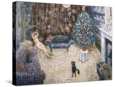 Christmas Spirit, 1993-Ian Bliss-Stretched Canvas Print