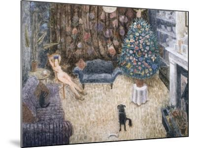 Christmas Spirit, 1993-Ian Bliss-Mounted Giclee Print