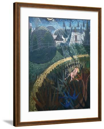 'To Our Bodies Turn We Then', 2003-Ian Bliss-Framed Giclee Print