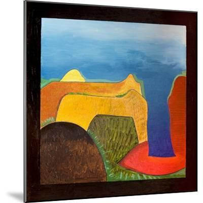 Greece, a Very Hot Day, 2006-Jan Groneberg-Mounted Giclee Print