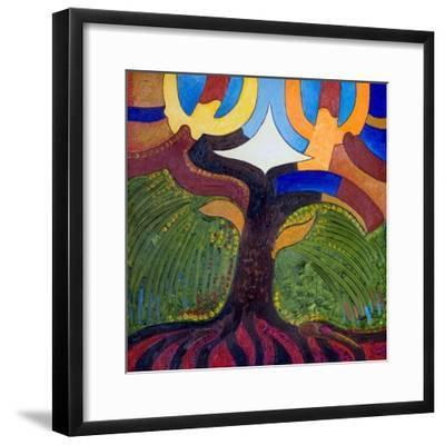 The Tree of Knowledge, 2007-Jan Groneberg-Framed Giclee Print