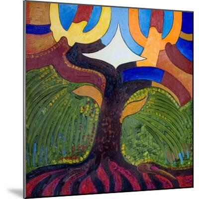 The Tree of Knowledge, 2007-Jan Groneberg-Mounted Giclee Print