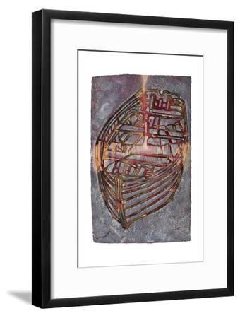 Small White Boat, 2007-Graham Dean-Framed Giclee Print