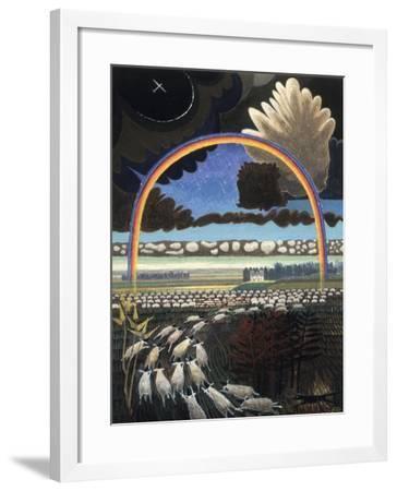 The Rainbow, 2005-Ian Bliss-Framed Giclee Print