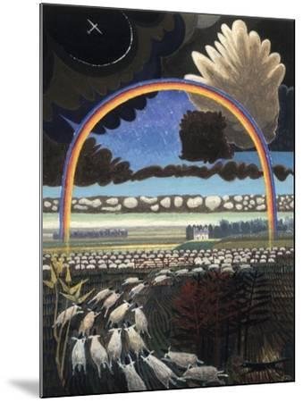 The Rainbow, 2005-Ian Bliss-Mounted Giclee Print