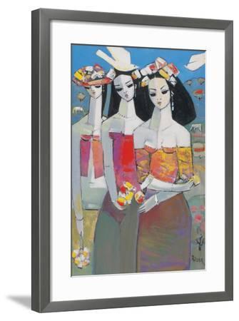 Two White Birds-Endre Roder-Framed Giclee Print