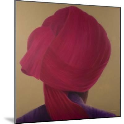 Deep Red Turban, Purple Jacket-Lincoln Seligman-Mounted Giclee Print
