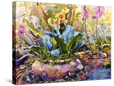 Garden with Plants, 2000-Christopher Ryland-Stretched Canvas Print