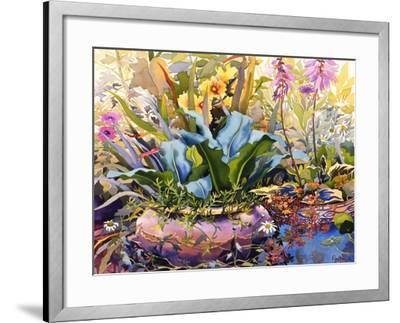 Garden with Plants, 2000-Christopher Ryland-Framed Giclee Print