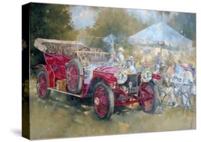 Picnic in Ghost-Peter Miller-Stretched Canvas Print