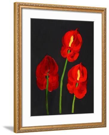 Anthurium-Deborah Barton-Framed Giclee Print