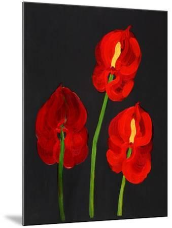 Anthurium-Deborah Barton-Mounted Giclee Print