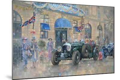 Christmas at the Ritz-Peter Miller-Mounted Giclee Print