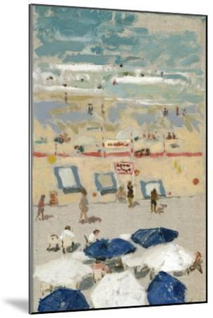 Plage, Biarritz, 1999-Delphine D. Garcia-Mounted Giclee Print