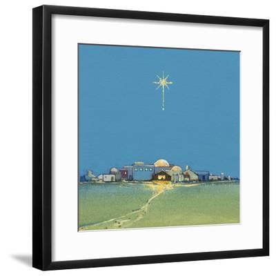 Nativity, 2008-David Cooke-Framed Giclee Print