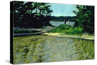 On Gull Pond-Sarah Butterfield-Stretched Canvas Print