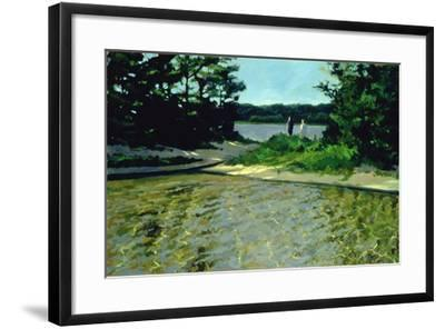 On Gull Pond-Sarah Butterfield-Framed Giclee Print