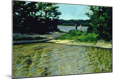 On Gull Pond-Sarah Butterfield-Mounted Giclee Print