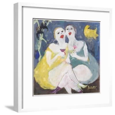 Friday Night Girls, 2007-Susan Bower-Framed Giclee Print