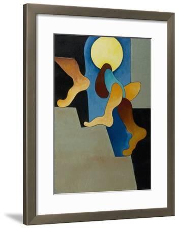 Don't You Hear Those Steps, 2008-Jan Groneberg-Framed Giclee Print