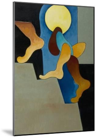 Don't You Hear Those Steps, 2008-Jan Groneberg-Mounted Giclee Print