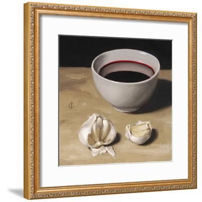 Garlic and Wine-James Gillick-Framed Giclee Print