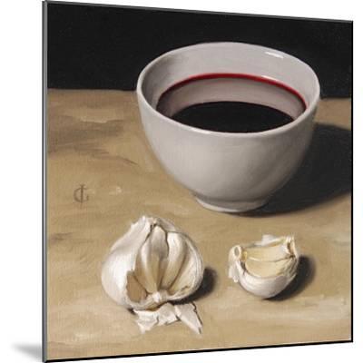 Garlic and Wine-James Gillick-Mounted Giclee Print