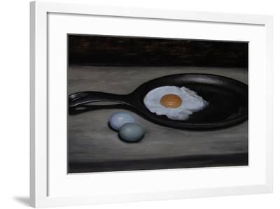 Frying Pan and Eggs-James Gillick-Framed Giclee Print