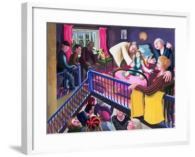 Raising of Jairus' Daughter, 2000-Dinah Roe Kendall-Framed Giclee Print