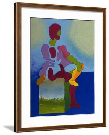 Death Waiting Patiently, 2008-Jan Groneberg-Framed Giclee Print