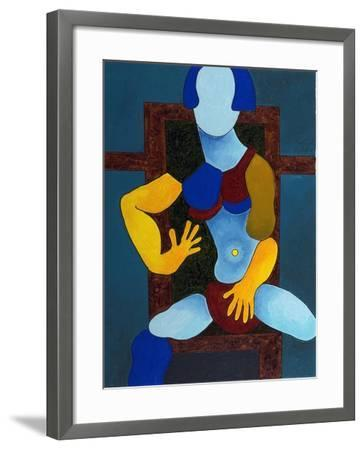 Girl with an Expensive Bikini, 2007B-Jan Groneberg-Framed Giclee Print