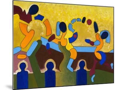 Ceremony of a Sacred Game of Balls, 2007-Jan Groneberg-Mounted Giclee Print