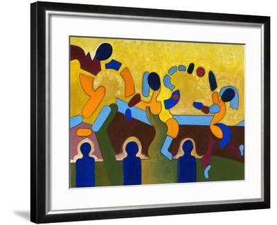 Ceremony of a Sacred Game of Balls, 2007-Jan Groneberg-Framed Giclee Print
