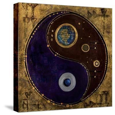 Gemini-Sagitarius, 2009-Sabira Manek-Stretched Canvas Print