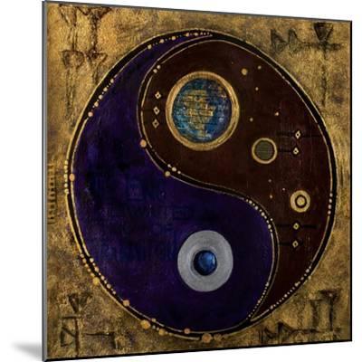 Gemini-Sagitarius, 2009-Sabira Manek-Mounted Giclee Print