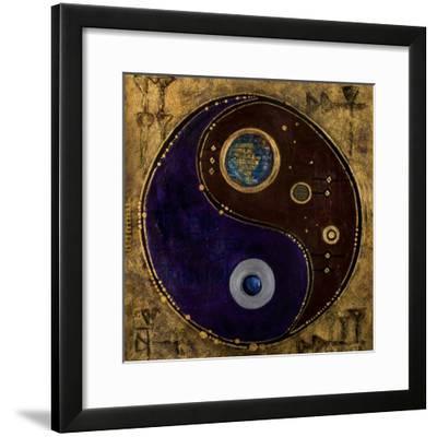 Gemini-Sagitarius, 2009-Sabira Manek-Framed Giclee Print