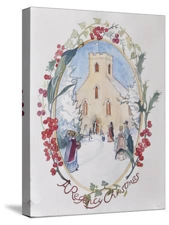Regency Christmas, 2008-Caroline Hervey-Bathurst-Stretched Canvas Print