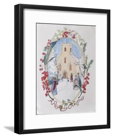 Regency Christmas, 2008-Caroline Hervey-Bathurst-Framed Giclee Print