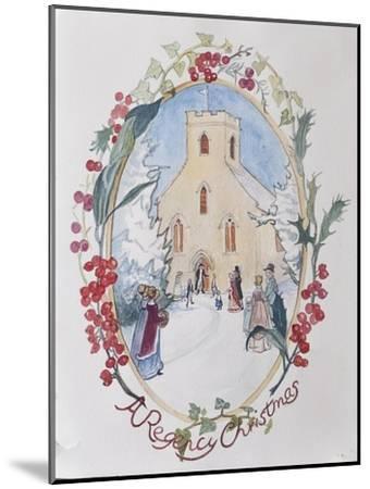 Regency Christmas, 2008-Caroline Hervey-Bathurst-Mounted Giclee Print