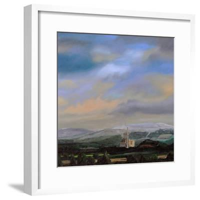 Cement Works, Hope Valley, Derbyshire, 2009-Trevor Neal-Framed Giclee Print