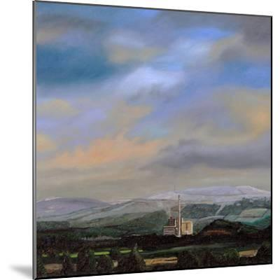Cement Works, Hope Valley, Derbyshire, 2009-Trevor Neal-Mounted Giclee Print