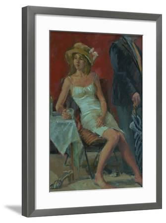 That Was a Lovely Lunch, 2008-Pat Maclaurin-Framed Giclee Print