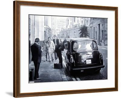 Taxi Hire, 2008-Kevin Parrish-Framed Giclee Print
