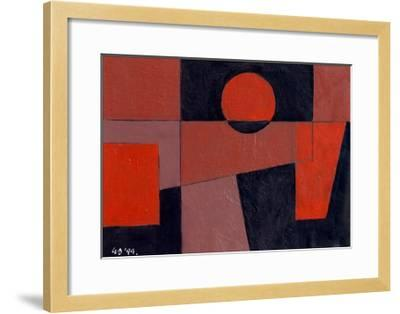 Related Reds with Black, 1999-George Dannatt-Framed Giclee Print