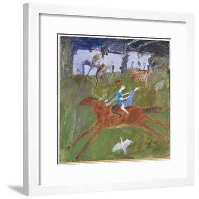 Getting Away, 2008-Susan Bower-Framed Giclee Print