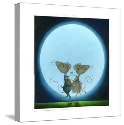 Blue Moon, 2009-Wayne Anderson-Stretched Canvas Print