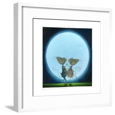 Blue Moon, 2009-Wayne Anderson-Framed Giclee Print