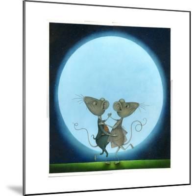 Blue Moon, 2009-Wayne Anderson-Mounted Giclee Print